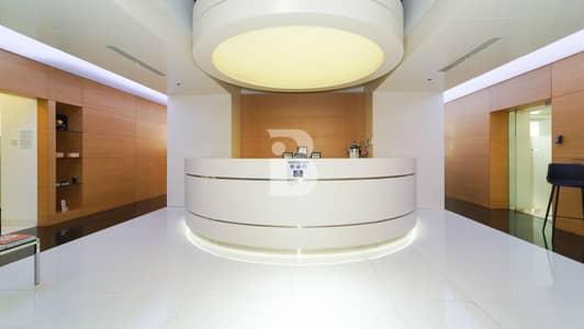 مکتب  للبيع في الخليج التجاري، دبي - High-end fitted office | Vision Tower | Burj and Canal view