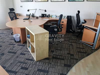 Office for Rent in Al Reem Island, Abu Dhabi - Spacious Fitted Office W/ Furniture | Inquire Now