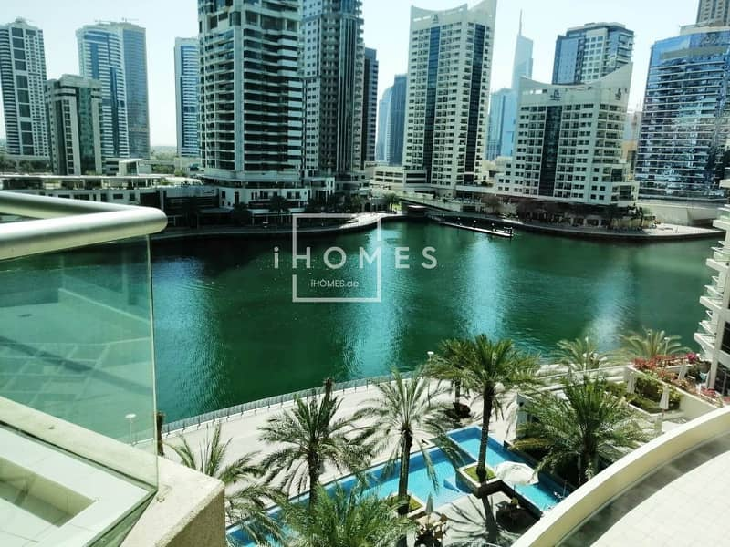 Stunning Full Marina View | Chiller Free 1BR for Rent