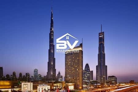 شقة 1 غرفة نوم للايجار في وسط مدينة دبي، دبي - All Inclusive | High Floor | Beautiful View