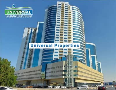 Studio for Rent in Al Bustan, Ajman - Studio For Rent in Ajman Orient Tower