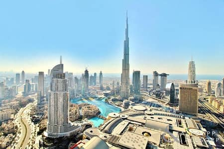 4 Bedroom Apartment for Sale in Downtown Dubai, Dubai - 4 Beds | Burj Khalifa and Fountain Views