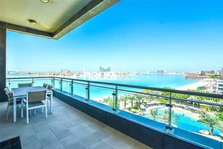 شقة 2 غرفة نوم للبيع في نخلة جميرا، دبي - Top Floor | Best Floorplan | Beach Front Apartment
