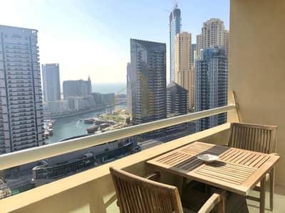 1 Bedroom Apartment for Rent in Dubai Marina, Dubai - Fully Furnished   1 Bedroom   Marina View