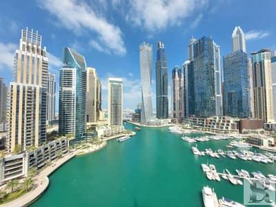 فلیٹ 3 غرف نوم للبيع في دبي مارينا، دبي - Splendid 3 BR+Maids+Study | Full Marina View