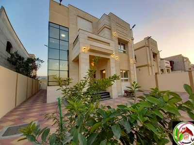 5 Bedroom Villa for Sale in Al Rawda, Ajman - For sale a luxurious stone villa, personal building, direct from the owner, a great location