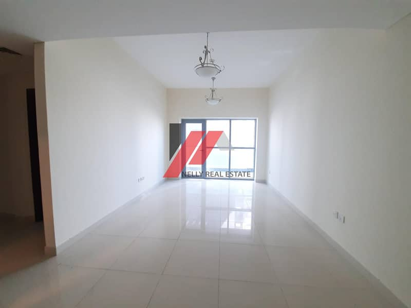 2 1 Month free Spacious 1 BHK With 2 Baths Master Bedroom Gym Pool Parking Only for 33k 4/6 chqs