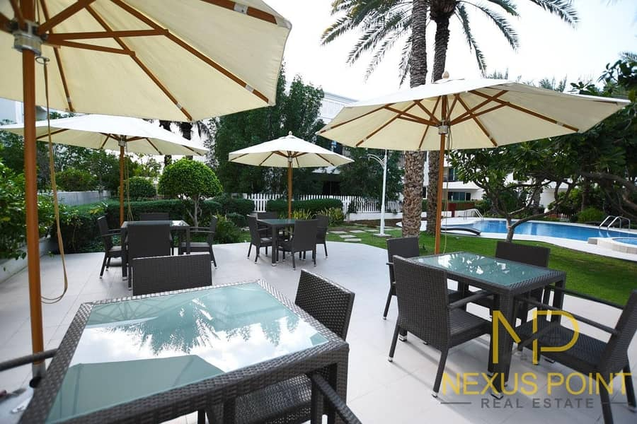 8 Family Friendly Community with Large Private Garden