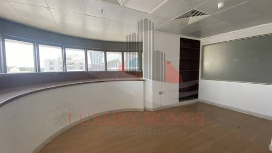 Office for Rent in Al Murabaa, Al Ain - 13 Months contract Main Street Fitted Space