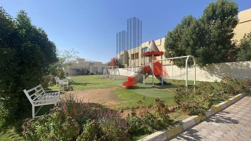 2 Duplex with Kids Playing Area and Shaded Parking