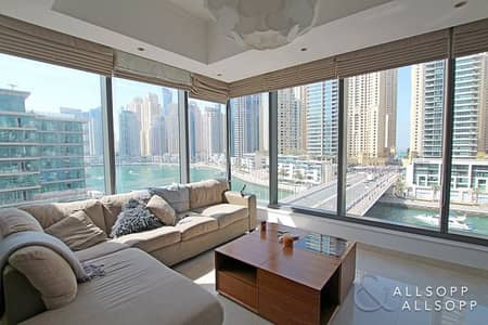 2 Bedroom Flat for Sale in Dubai Marina, Dubai - Two Bed | Corner Apt | Full Marina Views