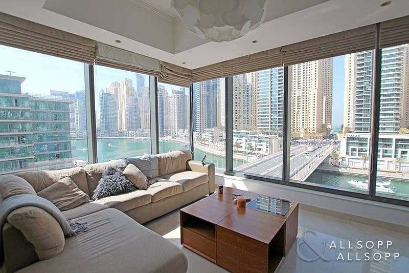 Two Bed   Corner Apt   Full Marina Views