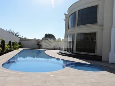 7 Bedroom Villa for Sale in Al Safa, Dubai - 7 BR Luxury Finished | Private Pool | Close to SZR