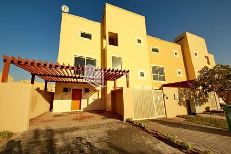 4 Bedroom Townhouse for Sale in Al Raha Gardens, Abu Dhabi - Tranquil Courtyard Townhouse | Move In | Gated Community