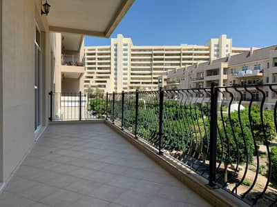 2 Bedroom Flat for Rent in Motor City, Dubai - Brand New Kitchen Appliances Clear Green View