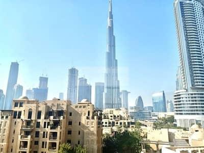 فلیٹ 2 غرفة نوم للايجار في المدينة القديمة، دبي - Full Burj Khalifa View    2 Bedroom   Chiller Free