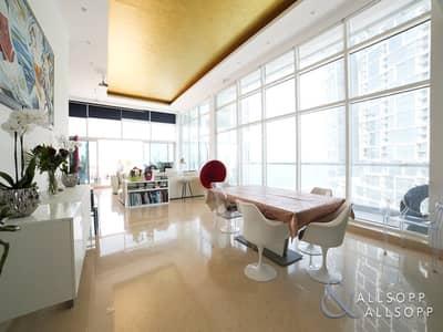 3 Bedroom Flat for Sale in Dubai Marina, Dubai - Sea View | 3 Bed Penthouse | Large Terrace