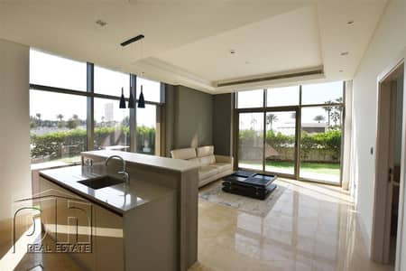 1 Bedroom Flat for Rent in Palm Jumeirah, Dubai - Vacant  Now - Ground Floor - Spacious Garden