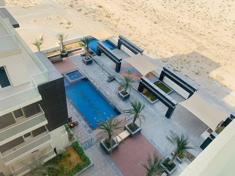 13 Amazing 1 bedroom  with balcony pool view in Tenora @ 29000