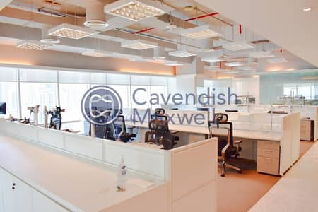Office for Rent in Jumeirah Lake Towers (JLT), Dubai - Furnished Office | High Floor | SZR View