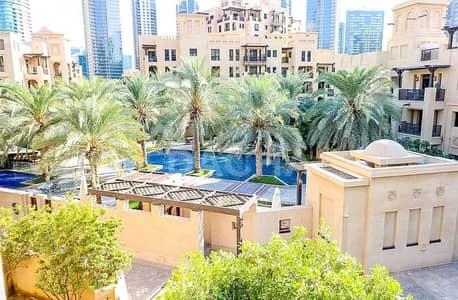 فلیٹ 1 غرفة نوم للايجار في المدينة القديمة، دبي - 1BR / Beautiful View / AC FREE