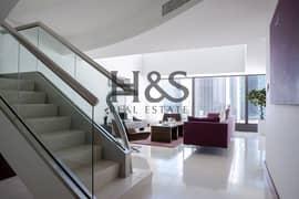 Luxurious Duplex Apt I Fully Furnished I Burj Khalifa View