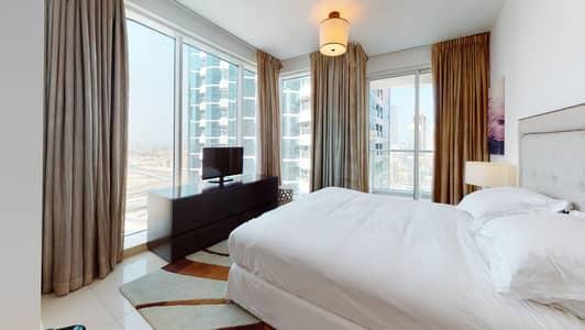 فلیٹ 1 غرفة نوم للايجار في أبراج بحيرات الجميرا، دبي - 50% off commission I Shared pool I Balcony