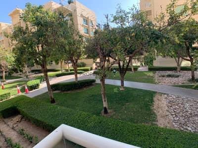 فلیٹ 1 غرفة نوم للايجار في الروضة، دبي - Beautiful 1 B R at Greens |Ground floor |Nice View