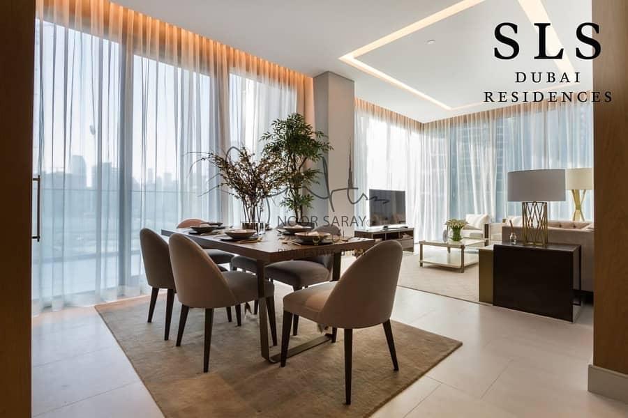 2 Luxurious 1  Bedroom-Loft  in  SLS  5 Star Hotel & Residences
