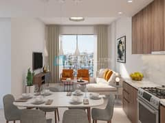 Exclusive resale | Rare Burj Khalifa and sea view