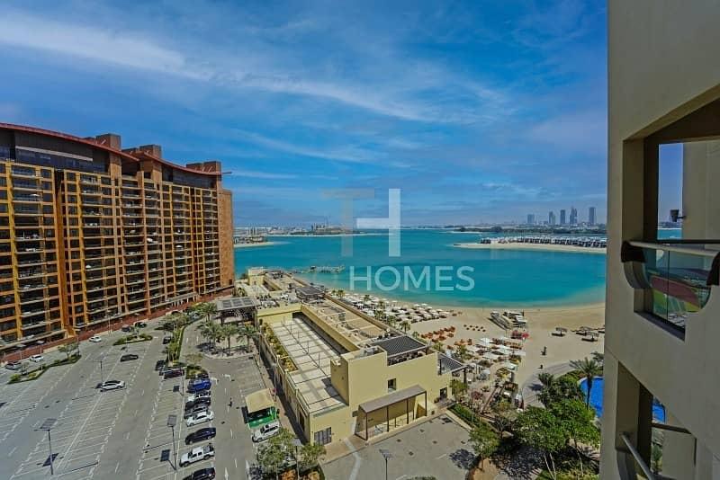 Beach & Sea Views | Furnished | High Floor