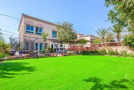 5 Bedroom Villa for Sale in Jumeirah Village Triangle (JVT), Dubai - Corner Plot | Park Facing | 5 Bedroom Vacant Soon