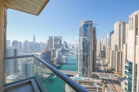 2 Bedroom Flat for Sale in Dubai Marina, Dubai - High Floor | Tenanted | Full Marina View