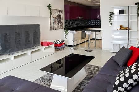 شقة 1 غرفة نوم للايجار في دبي مارينا، دبي - Full Marina view   High Quality Furniture
