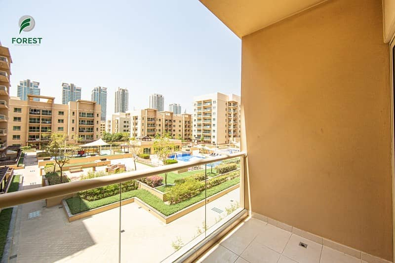 Stunning  Unit   1 Bed   Finest Pool View   Vacant