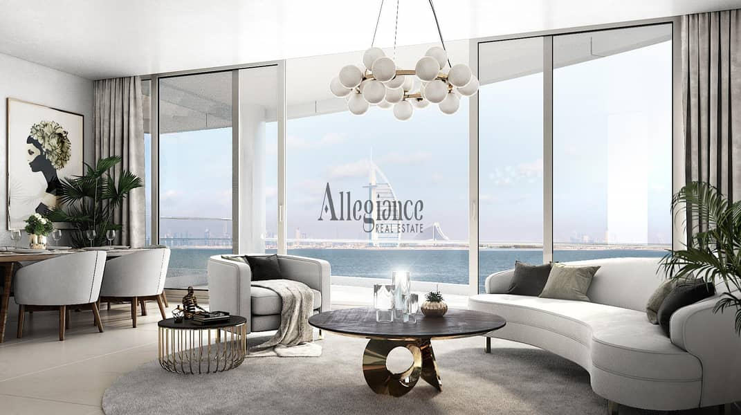 2 Beach & Burj Al Arab view  | Private Beach