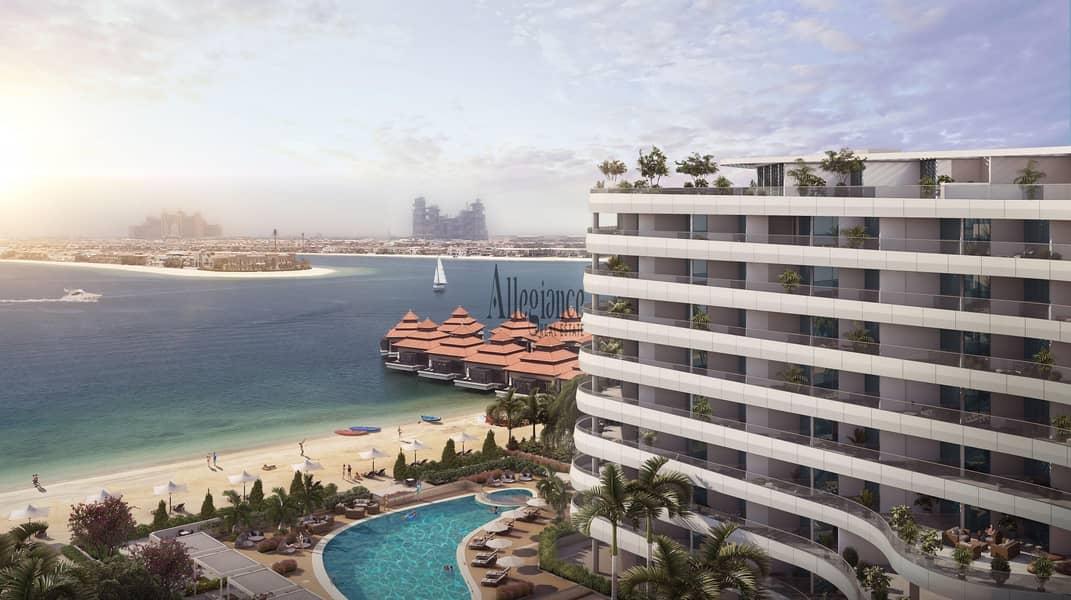 10 Beach & Burj Al Arab view  | Private Beach