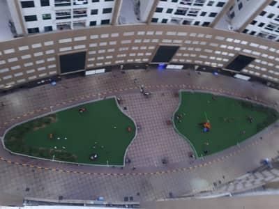 شقة غرفتين و صالة للبيع في ابراج اللؤلؤة عجمان