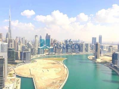 شقة 2 غرفة نوم للايجار في الخليج التجاري، دبي - Beautiful 2BR with amazing Burj and Lake View