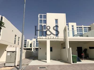 تاون هاوس 3 غرف نوم للايجار في أكويا أكسجين، دبي - Modern Style Villa I Furnished - End Unit I 3 Beds + Maid