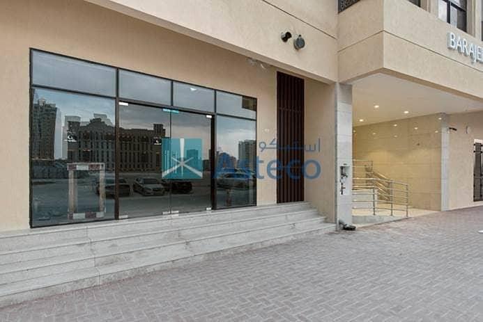 New Retail Show room at Jaddaf Metro station