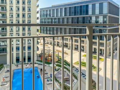 2 Bedroom Apartment for Rent in Dubai Hills Estate, Dubai - Spacious |Brand new | 2bed |Chiller free|Pool View