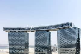 شقة في برج البوابة 3 برج البوابة شمس جيت ديستريكت جزيرة الريم 2 غرف 80000 درهم - 5044503