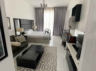 Studio for Rent in Dubai Sports City, Dubai - Fully furnished | Boutique suite | Golf course View