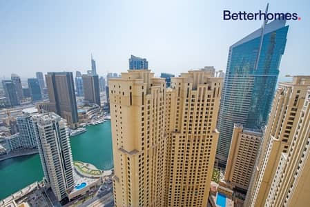 2 Bedroom Apartment for Sale in Jumeirah Beach Residence (JBR), Dubai - Renovated & Upgraded | High Floor | Unfurnished
