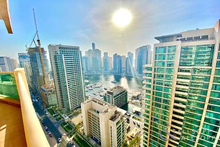 شقة 3 غرف نوم للبيع في دبي مارينا، دبي - Marina Views   3 Bedrooms   Large Terrace