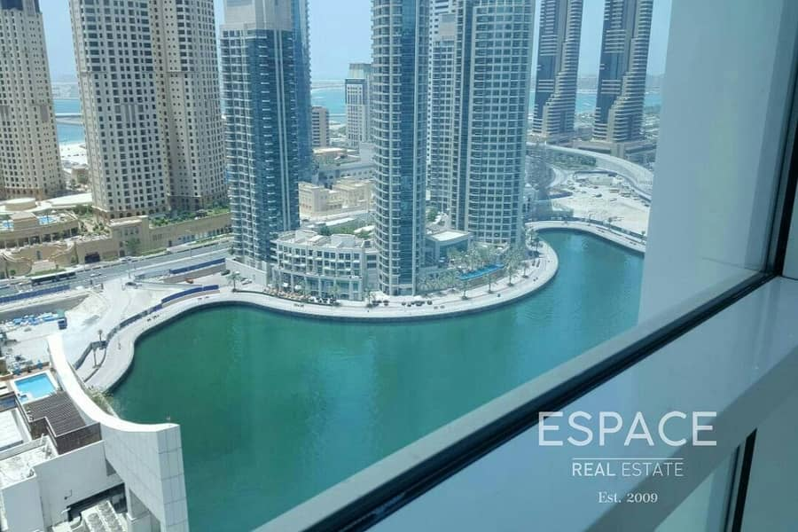 Full Marina View | 2 Beds | Available Now