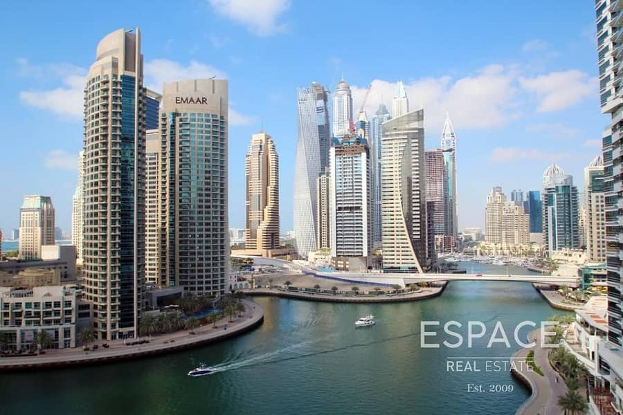 12 Full Marina View | 2 Beds | Available Now