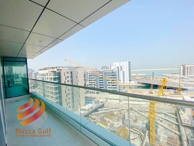 فلیٹ 2 غرفة نوم للايجار في شاطئ الراحة، أبوظبي - No Commission for Sea View Unit with 6 Payments
