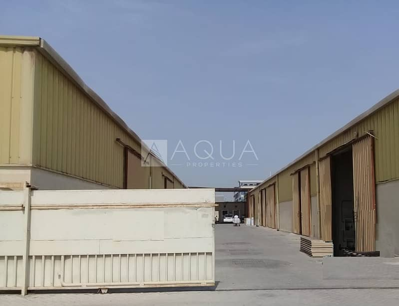 Warehouse | Commercial Use | Al Quoz Ind